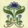 Плитка в стиле Art Nouveau
