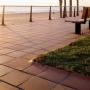 Клинкерная плитка на набережной. Gres de Breda